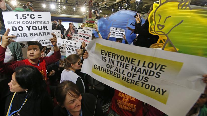Paris: Viele Staaten mit Klima-Vertragsentwurf unzufrieden