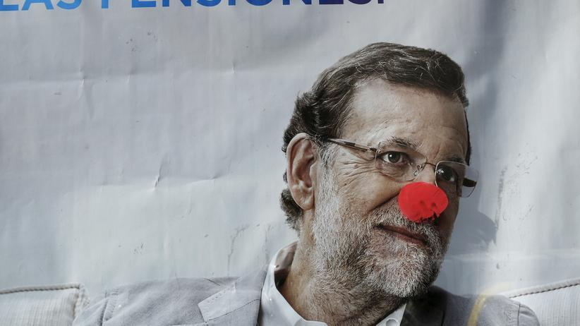 Mariano Rajoy: Wahlplakat von Mariano Rajoy