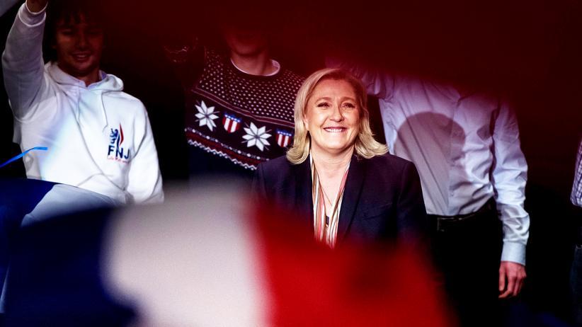 Politik, Frankreich, Front National, Marine Le Pen, Frankreich, Jean-Marie Le Pen, François Hollande, Paris