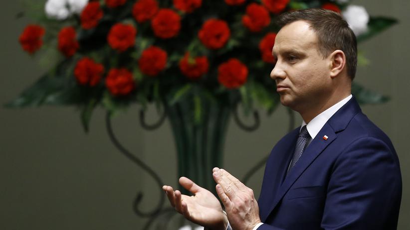 Präsident Andrzej Duda