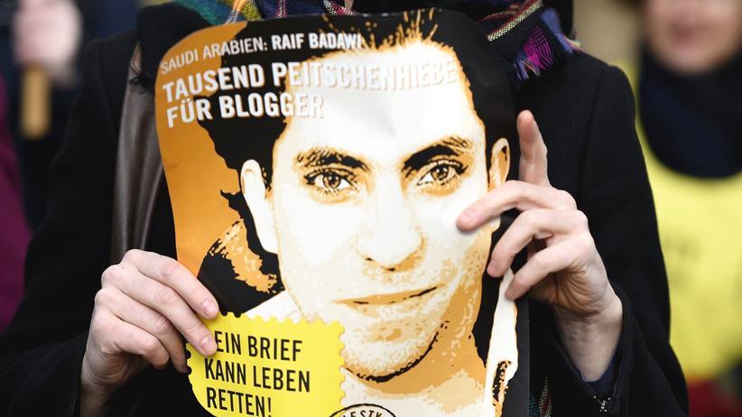 Saudi-Arabien: Raif Badawi soll in den Hungerstreik getreten sein
