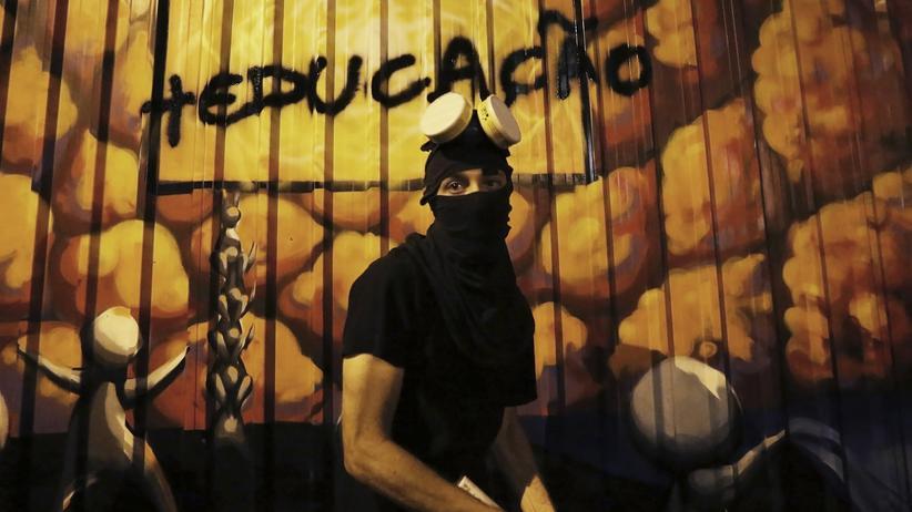 Politik, São Paulo, Brasilien, São Paulo, Graffiti, Sozialstruktur, Protest