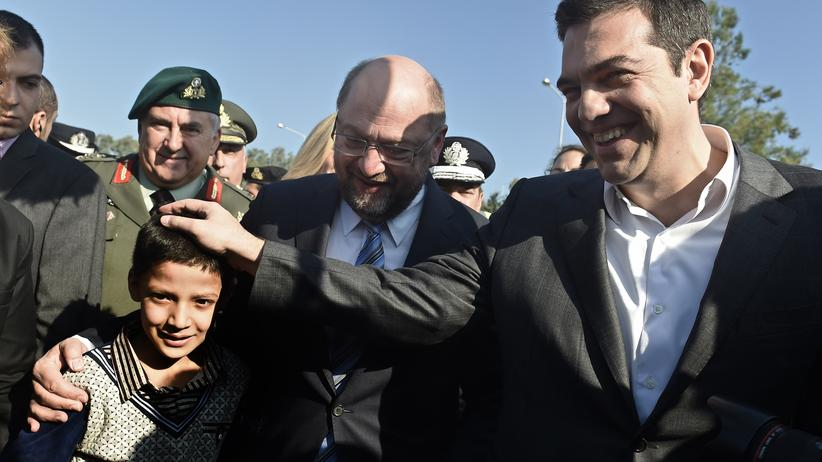 Tsipras Griechenland Flüchtlinge