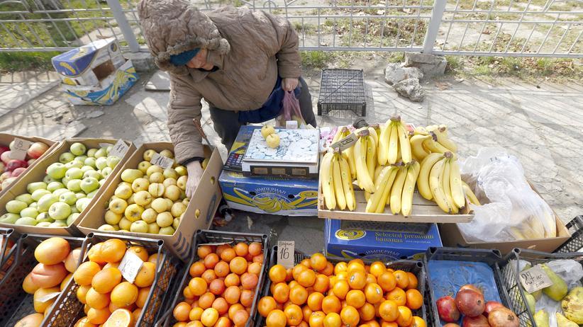 Ukraine Handel Krim