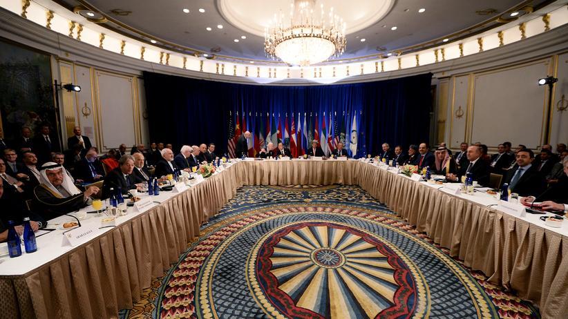 Syrien-Konflikt: Das Treffen der UN-Außenminister zum Syrien-Konflikt im UN-Hauptquartier in New York.