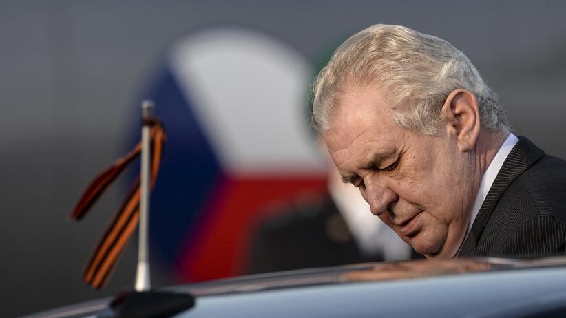 Miloš Zeman: Der tschechische Präsident Miloš Zeman (Archivbild)
