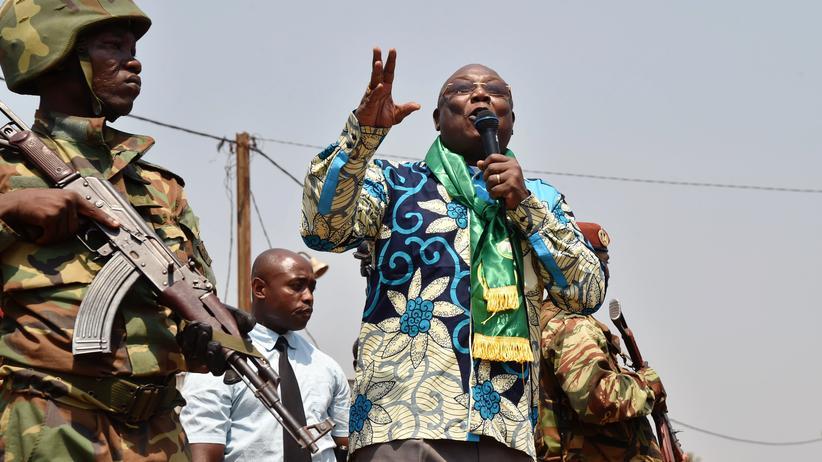 Zentralafrikanische Republik: Präsidentschaftskandidat Martin Ziguélé