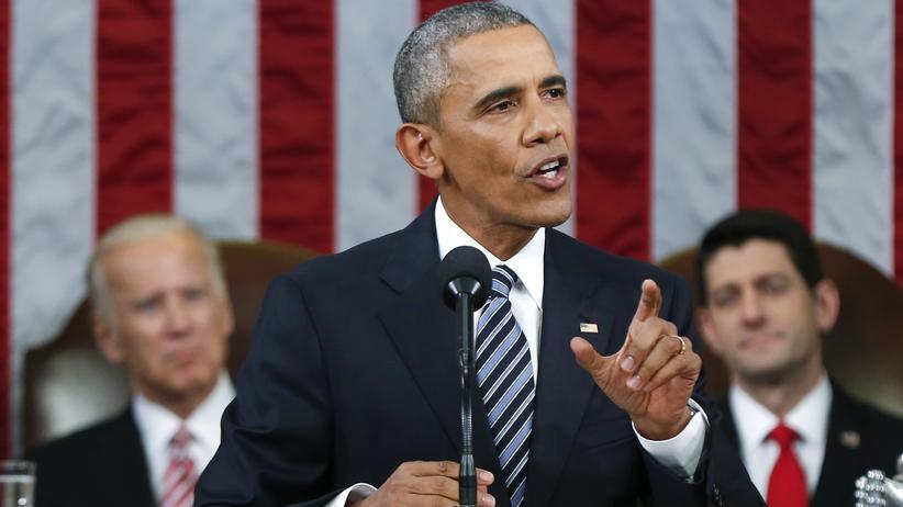 Barack Obama hält seine letzte Ansprache zur Lage der Nation.