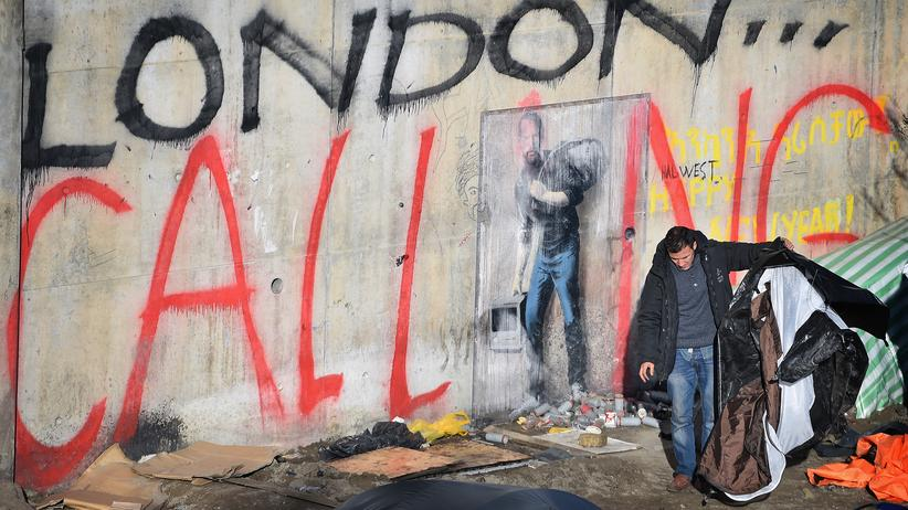 """Flüchtlinge: Das berüchtigte """"Dschungel""""-Lager in Calais"""