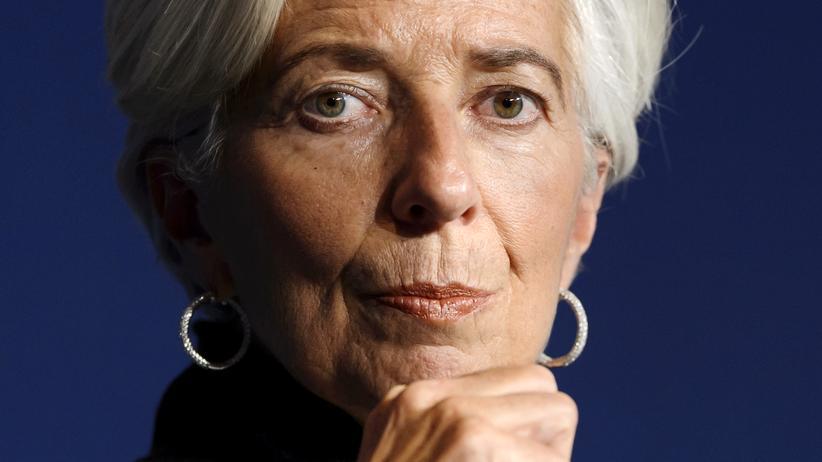 IWF: Die Chefin des Internationalen Währungsfonds, Christine Lagarde