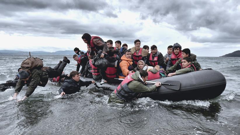 Flüchtlinge: Bundespolizei trainiert für Einsatz in Ägäis