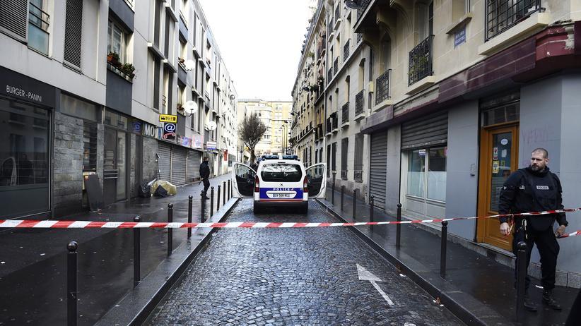 Paris: Nahe dem Tatort in Paris