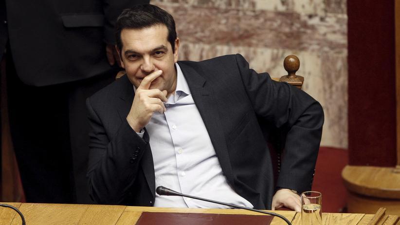 Griechenland: Griechenlands Ministerpräsident Alexis Tsipras