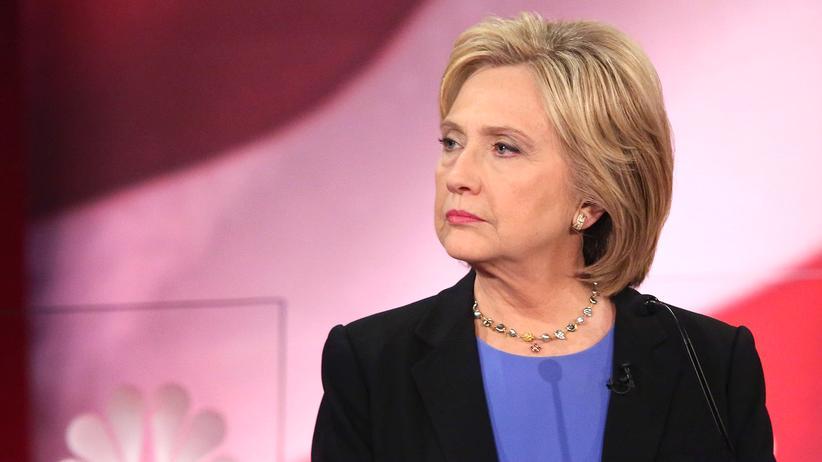 Hillary Clinton: Hillary Clinton beim vierten TV-Duell der Demokraten