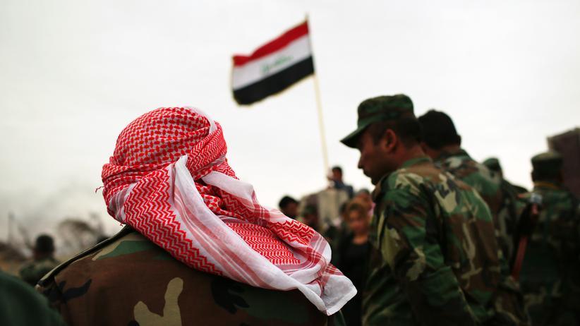 Amnesty International: Kurdische Peschmerga-Kämpfer in Sindjar im Irak, November 2015