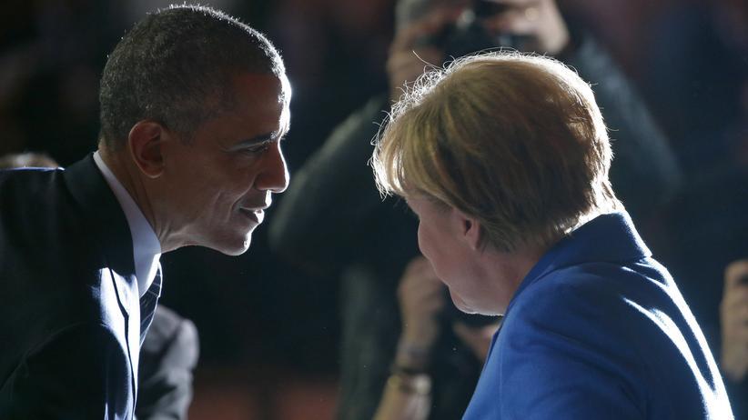 US-Präsident Barack Obama und Bundeskanzlerin Angela Merkel im November 2015
