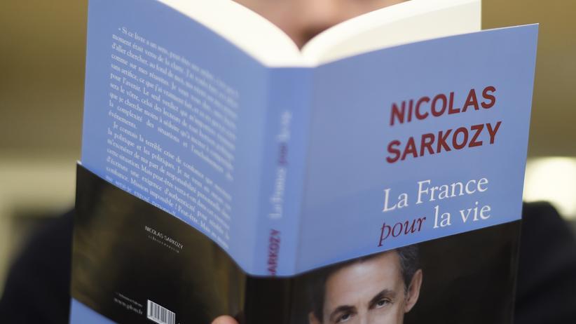 """Nicolas Sarkozy: Das Buch von Nicolas Sarkozy """"La France pour la vie"""" kommt am 25. Januar in den Handel."""