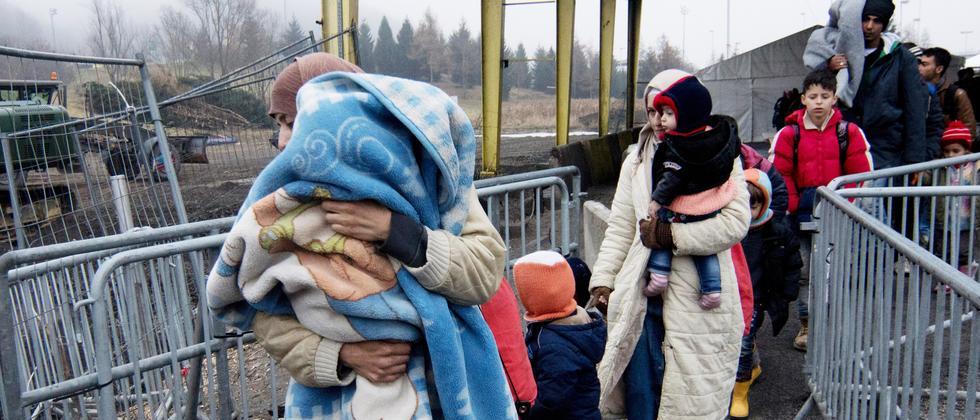 Österreich Flüchtlinge Obergrenze