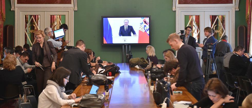Russland Medien
