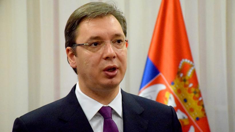 Aleksandar Vučić: Der serbische Regierungschef Aleksandar Vucic