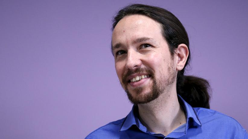 Spanien: Der Parteiführer von Podemos, Pablo Iglesias