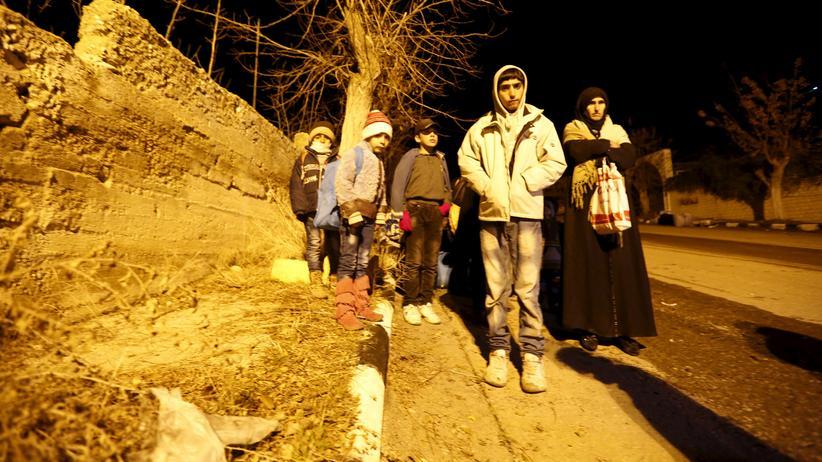 Syrien: Zivilisten in der umkämpften Stadt Madaja