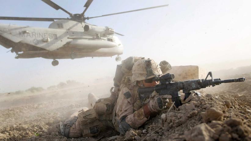 US-Politik: US-Marine in Afghanistan