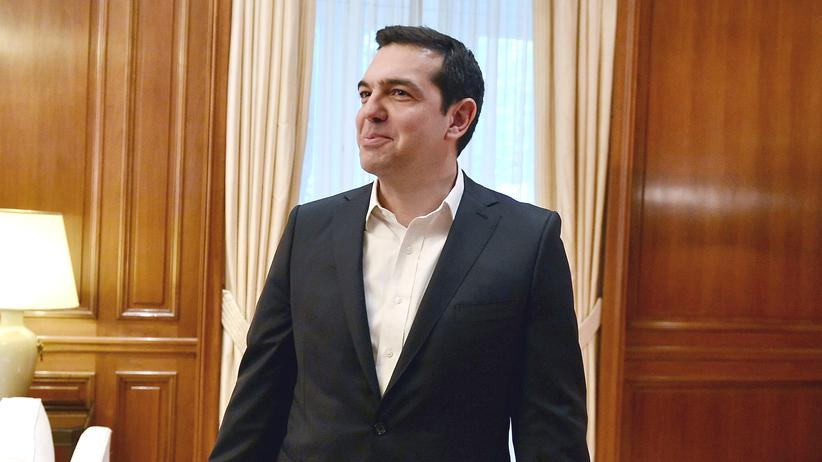Alexis Tsipras: Griechenlands Ministerpräsident Alexis Tsipras in Athen (Archivbild)