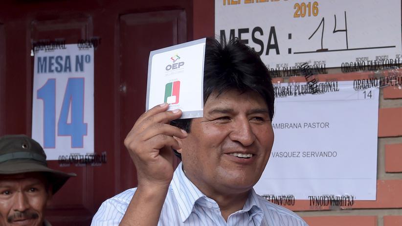 Bolivien Evo Morales Referendum Präsident