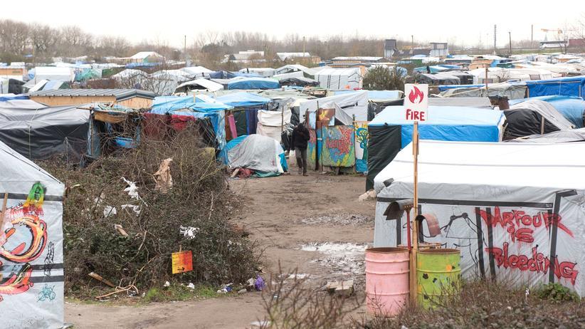 Frankreich: Ein Teil des Flüchtlingscamps in Calais darf geräumt werden. (Archivbild)