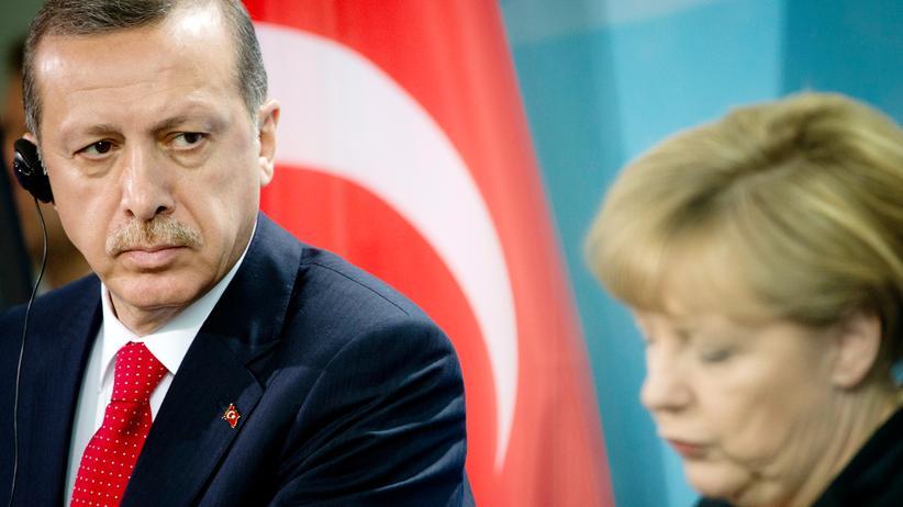 Angela Merkel und der türkische Präsident Erdoğan