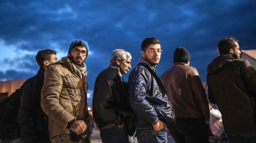 Flüchtlinge Griechenland Idomeni