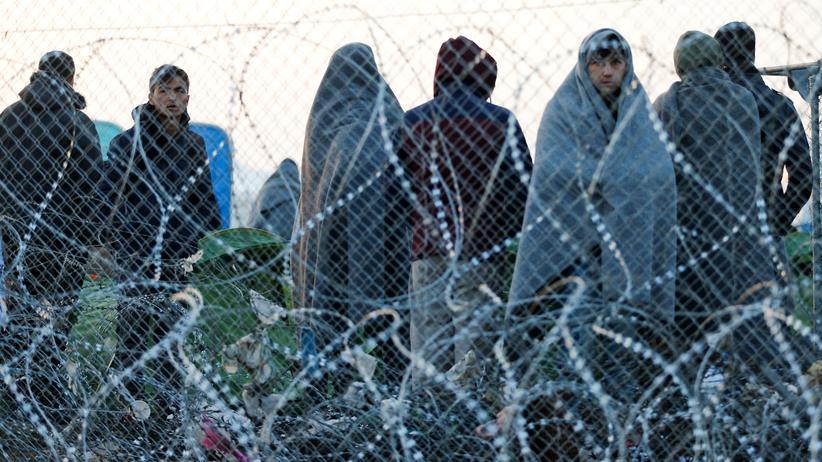 Flüchtlinge Griechenland Österreich Mazedonien