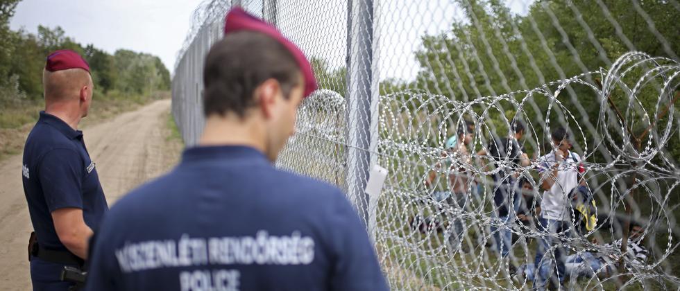 Flüchtling Flüchtlingspolitik Europa Ungarn Polen Balkanroute