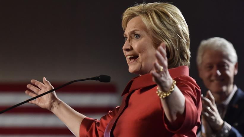 US-Wahlen: Clinton und Trump gewinnen Vorwahlen