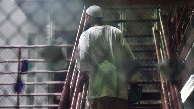 IS-Gefangene: Ein Gefangener im sogenannten Camp 6 des US-Gefangenenlagers Guantanamo