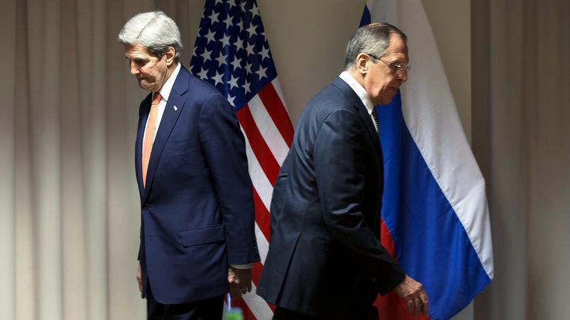 John Kerry und Sergej Lawrow (Archivbild)