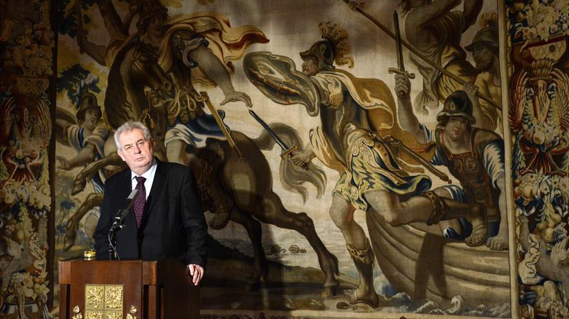 Tschechien: Tschechiens Präsident Miloš Zeman (Bild von 2014)