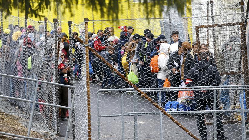 Flüchtlingspolitik: In Slowenien, an der Grenze zu Österreich