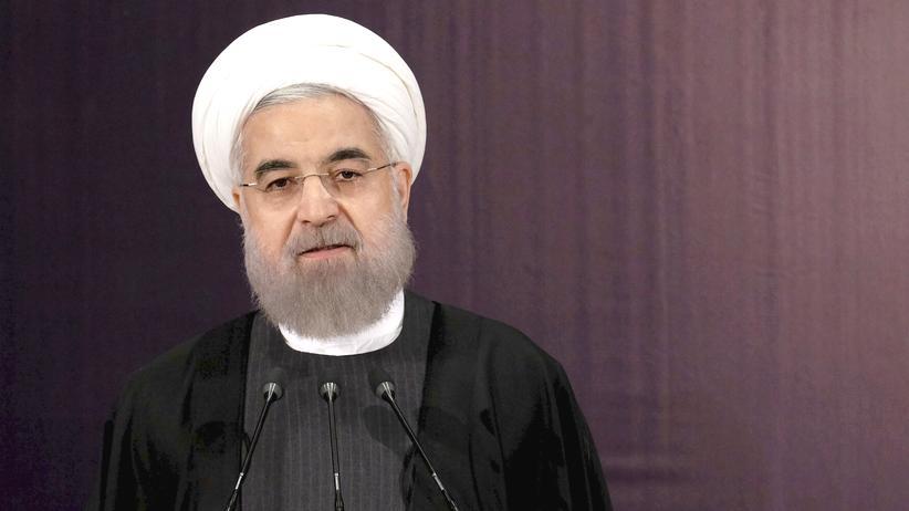 Wahl im Iran: Irans Präsident Hassan Ruhani in Teheran (Archivbild)