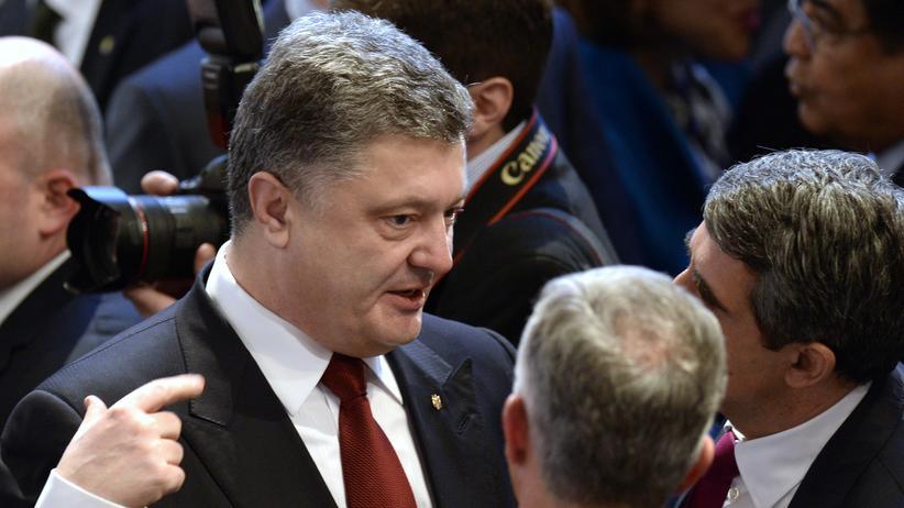 Petro Poroschenko, Präsident der Ukraine (2015)