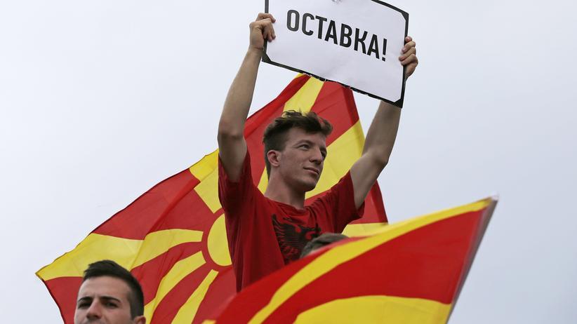 Mazedonien: Früher Umbruch, heute Bollwerk