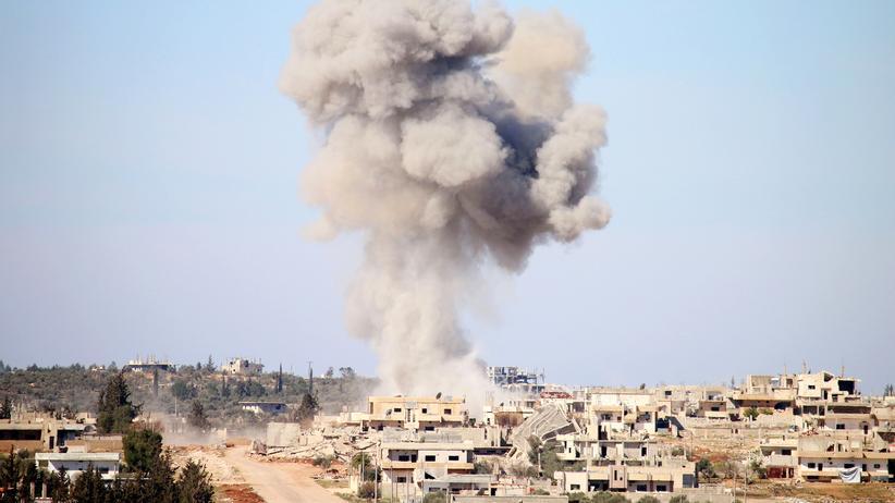 Bürgerkrieg: Luftangriffe der Regierungstruppen im Süden von Syrien