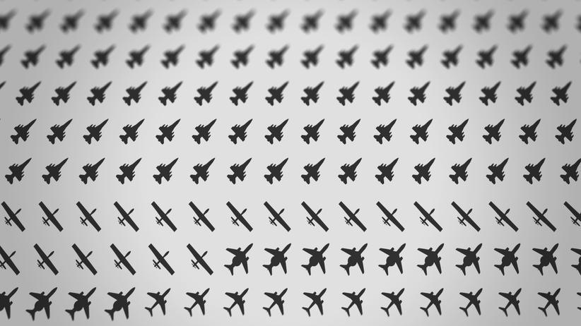 Syrienkrieg: Am Himmel über Syrien