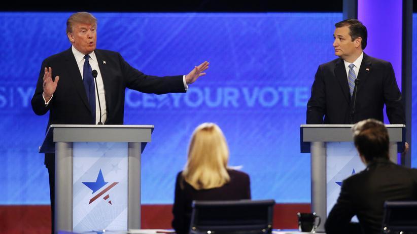 TV-Debatte: Donald Trump hält Waterboarding für zu harmlos
