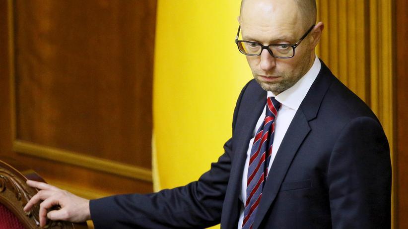 Ukraine: Die Regierung von Arseni Jazenjuk hat ihre Mehrheit im Parlament verloren.