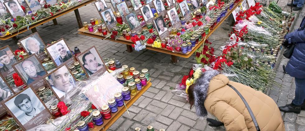 Ukranie Kiew Maidan