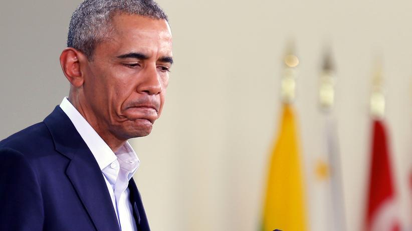 Bürgerkrieg: US-Präsident Barack Obama