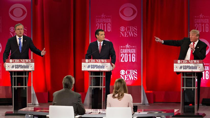 TV-Debatte: Wenn Donald Trump die Worte fehlen