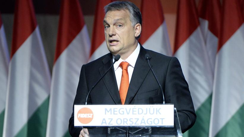 Ungarns Ministerpräsident Orbán Anfang Dezember in Budapest